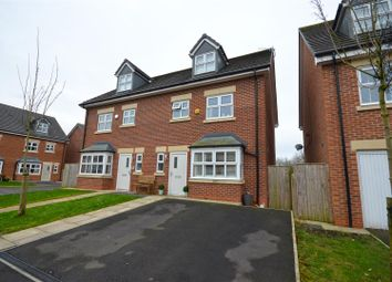 Thumbnail 4 bed semi-detached house for sale in Shire Croft, Mossley, Ashton-Under-Lyne