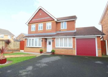 Thumbnail 4 bed detached house for sale in Hever Drive, Halewood, Liverpool