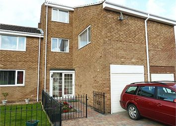 Thumbnail 4 bed terraced house for sale in Haggerston Court, Newcastle Upon Tyne, Tyne And Wear