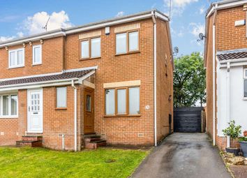 Thumbnail 3 bed semi-detached house for sale in Eagleton Drive, High Green, Sheffield, South Yorkshire