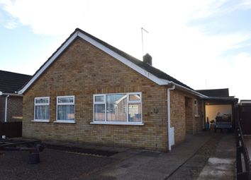 Thumbnail 3 bed detached bungalow for sale in Ibbott Close, Stanground, Peterborough