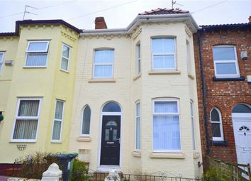Thumbnail 3 bed terraced house to rent in Halcyon Road, Birkenhead