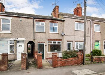 Thumbnail 3 bed terraced house for sale in Swanwick Road, Leabrooks, Alfreton