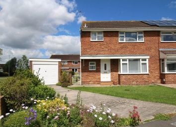 Thumbnail 3 bed semi-detached house for sale in Saltram Close, Swindon