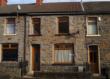 Thumbnail 3 bed terraced house for sale in Eva Street, Mountain Ash