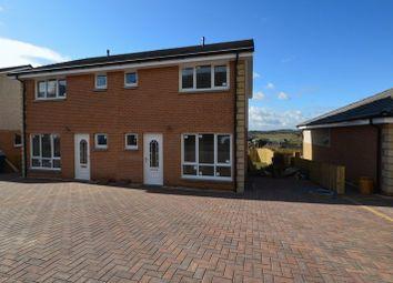 Thumbnail 3 bed semi-detached house for sale in Hillside, Croy, Kilsyth, Glasgow