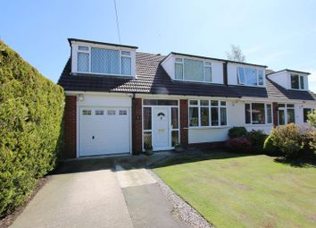 Thumbnail 4 bed semi-detached house for sale in Liverpool Old Road, Much Hoole, Preston