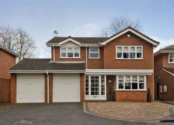 Thumbnail 4 bed detached house for sale in Brunel Close, Hunslet, Burntwood