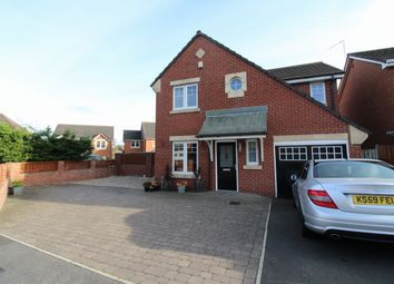Thumbnail 4 bedroom detached house for sale in Snowball Close, Crook