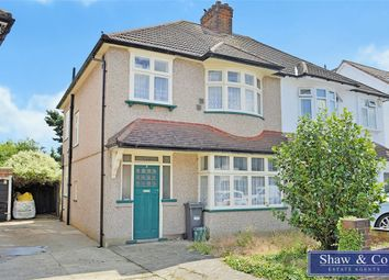 Thumbnail 3 bed semi-detached house for sale in Sutton Hall Road, Hounslow, Middlesex
