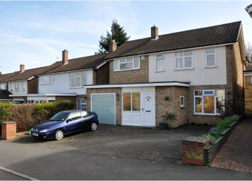 Thumbnail 4 bedroom detached house for sale in Rosemead Drive, Leicester