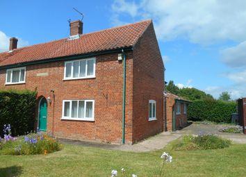 Thumbnail 2 bed semi-detached house to rent in Mattishall Road, East Tuddenham, Norfolk