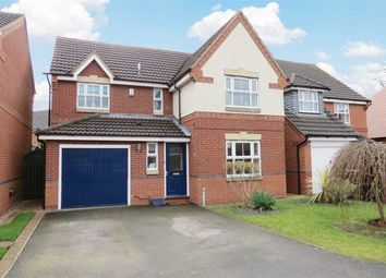 Thumbnail 4 bed detached house for sale in Peacock Court, Sleaford