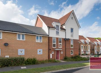 Thumbnail 4 bed town house for sale in Poethlyn Drive, Queens Hill, Norwich