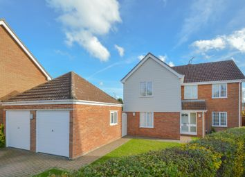 Thumbnail 4 bedroom detached house for sale in Boyton Close, Haverhill, Suffolk