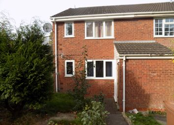 Thumbnail 1 bed flat for sale in Maybank Close, Lichfield
