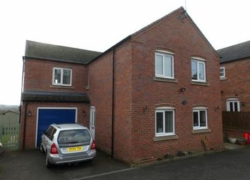 Thumbnail 4 bed detached house for sale in Common Road, Church Gresley, Swadlincote, Derbyshire