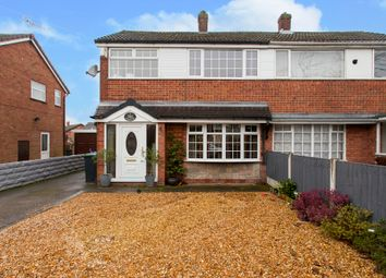 Thumbnail 3 bed semi-detached house for sale in Winsford Avenue, Weston Coyney, Stoke-On-Trent