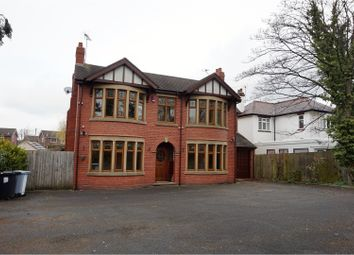 Thumbnail 6 bed detached house for sale in Crewe Road, Crewe