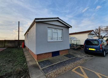 Thumbnail 1 bed mobile/park home for sale in Beech Avenue, Charnwood Park Estate, Scunthorpe