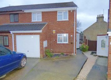 Thumbnail 4 bed semi-detached house for sale in Basi Close, Frindsbury, Rochester