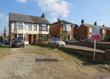 Thumbnail 3 bedroom semi-detached house for sale in Humber Doucy Lane, Rushmere St. Andrew, Ipswich