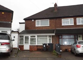 Thumbnail 3 bedroom end terrace house for sale in Carmodale Avenue, Great Barr, Birmingham
