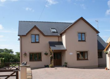 Thumbnail 5 bed detached house for sale in Carriageways, Station Road, Letterston, Haverfordwest