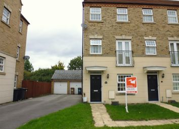 Thumbnail 3 bed terraced house for sale in Squirrel Chase, Witham St. Hughs, Lincoln