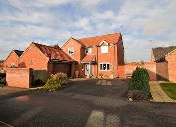 Thumbnail 4 bed detached house for sale in The Paddocks, Mileham, Kings Lynn, Norfolk.