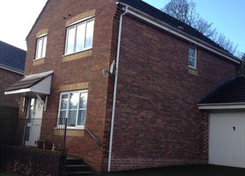 Thumbnail 3 bed detached house to rent in Wrenwood, Neath