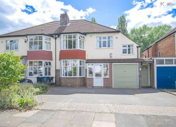 Thumbnail 4 bed semi-detached house for sale in Painswick Road, Hall Green, Birmingham