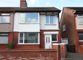 Thumbnail 3 bed semi-detached house to rent in Staley Avenue, Crosby, Liverpool