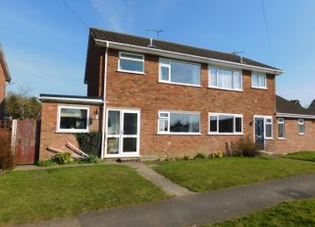 Thumbnail 3 bed semi-detached house for sale in Broadfields Close, Gislingham, Eye