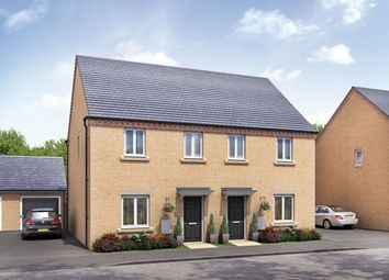 "Thumbnail 3 bed semi-detached house for sale in ""The Blickling"" at Barleythorpe Road, Oakham"