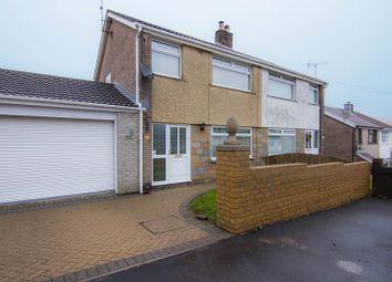 Thumbnail 3 bed semi-detached house for sale in Golwg-Y-Mynydd, Nantybwch, Tredegar