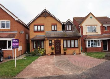 Thumbnail 3 bedroom detached house for sale in Owen Drive, Royston