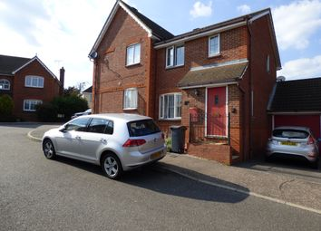 Thumbnail 3 bed semi-detached house to rent in Albra Mead, Chelmsford