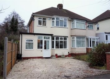 Thumbnail 3 bed semi-detached house for sale in Delrene Road, Solihull