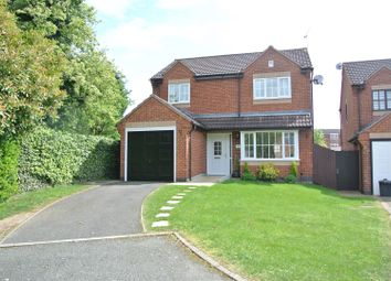 Thumbnail 4 bedroom detached house for sale in Church Nook, Wigston