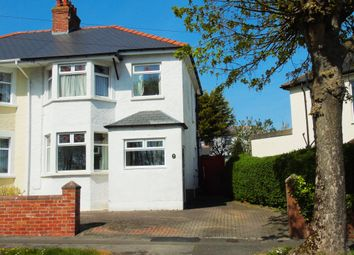 Thumbnail 3 bedroom semi-detached house for sale in Mountjoy Avenue, Penarth