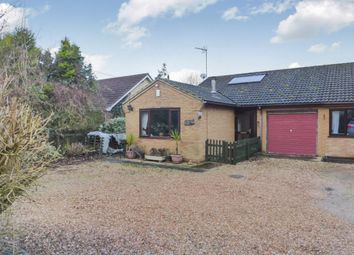 Thumbnail 2 bed semi-detached bungalow for sale in Kirkgate, Tydd St. Giles, Wisbech