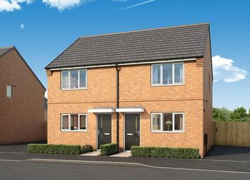 "Thumbnail 2 bed property for sale in ""The Buttercup At Fairfields, Corby"" at Glastonbury Road, Corby"
