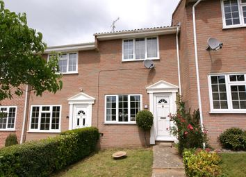 Thumbnail 2 bed terraced house for sale in Marian Road, Corfe Mullen, Wimborne