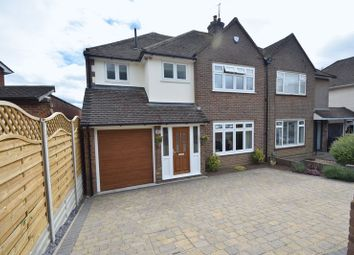 Thumbnail 4 bedroom semi-detached house for sale in Bushmead Road, Luton