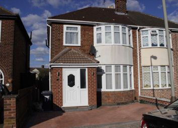 Thumbnail 3 bed semi-detached house for sale in Pauline Avenue, Leicester