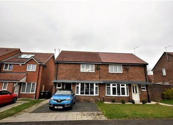 Thumbnail 2 bedroom semi-detached house for sale in Johnson Close, Peterlee, County Durham