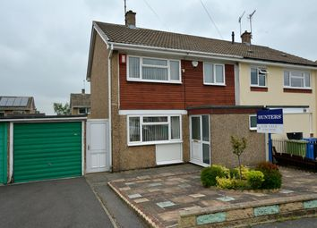 Thumbnail 3 bed semi-detached house for sale in Calver Crescent, Staveley, Chesterfield