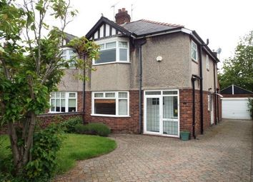Thumbnail 3 bed semi-detached house to rent in Haytor Road, Wrexham