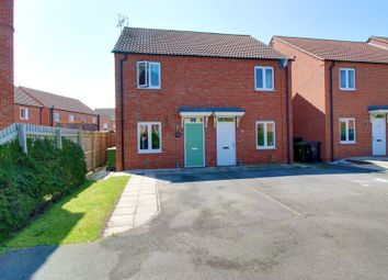 Thumbnail 2 bed semi-detached house for sale in Cedar Way, Selby